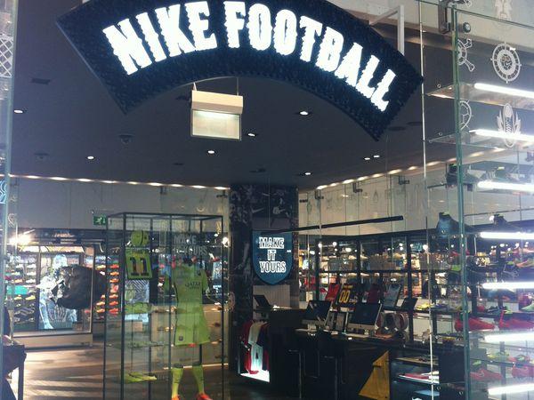#3 Londres : Niketown le temple dédié aux Dieux du sport !