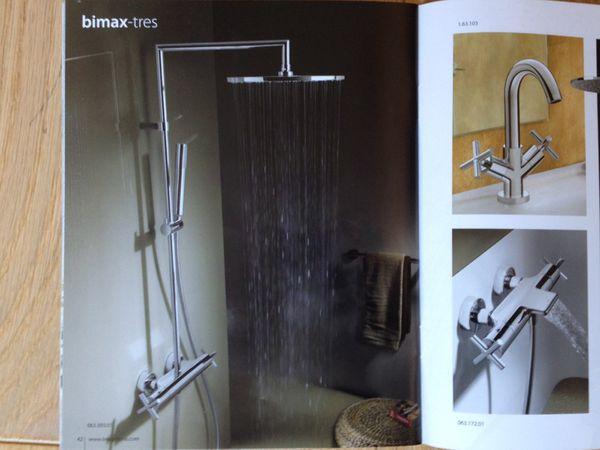 Ma selection colonne de douche thermostatique design pour douche italienne