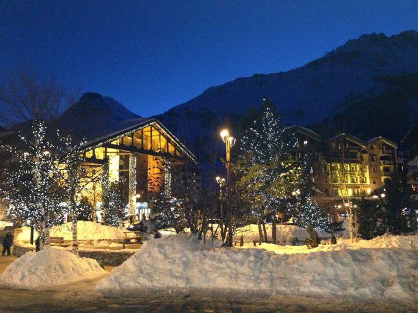 Lumières hivernales à Val d'Isère