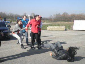 Agression lors d'une manifestation pour la défense des animaux dans les cirques