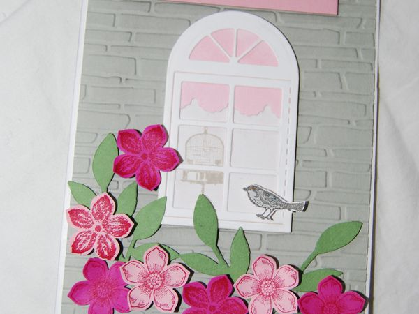 Une fenêtre pour la Saint Estelle ...