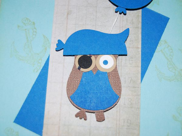 Un hibou pirate ...
