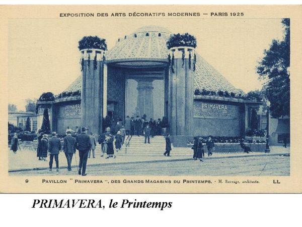 Les Grands Magasins et « Arts Décoratifs » 21/22 par JP Franssens.