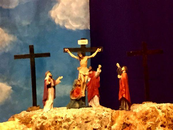 La passion et la crucifixion du vendredi saint