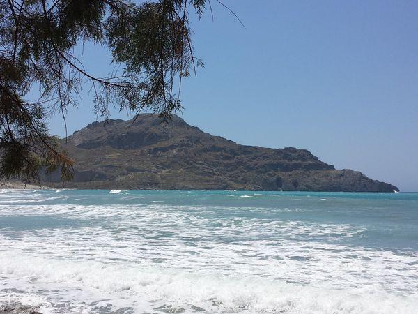 L'arrière pays et la côte sud de Crète