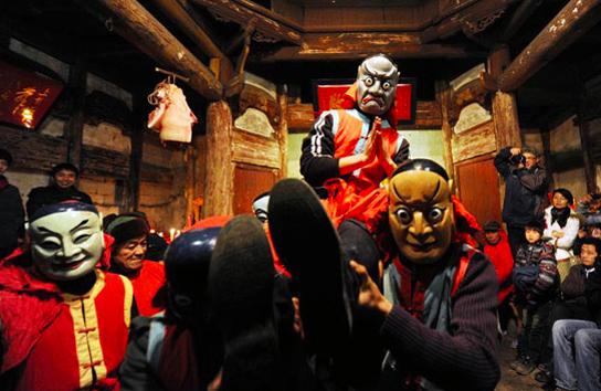 &quot&#x3B;Mask project&quot&#x3B; et culture Nuo 傩