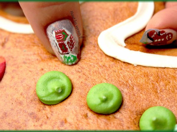 Gingerbread ...Ongles à croquer..