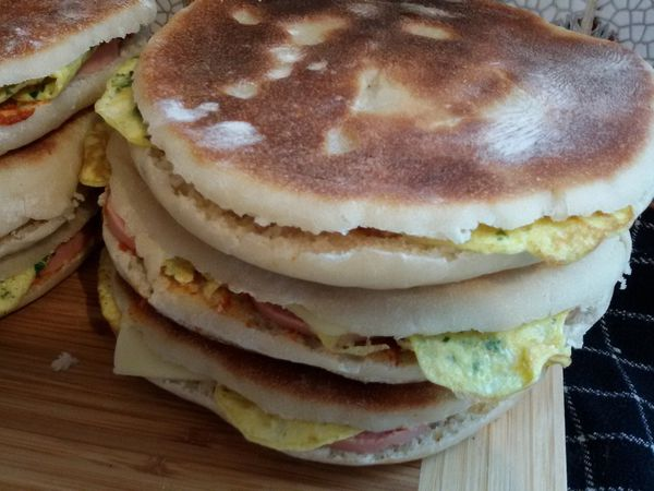 Chapatis tunisiens