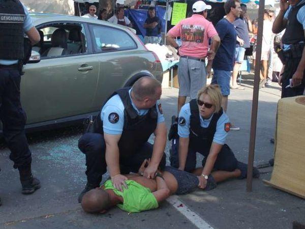 Vendays-Montalivet : un &quot&#x3B;déséquilibré&quot&#x3B; fonce dans la foule : communiqué du SDPM