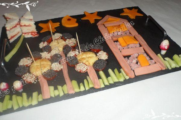 Plateau repas pour enfants