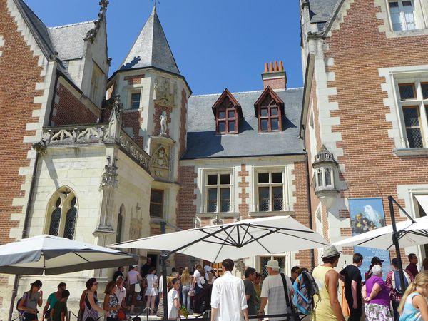 Le Clos Lucé, où Léonard de Vinci fut invité à loger par le Roi François 1er , et où il mourut en 1519.