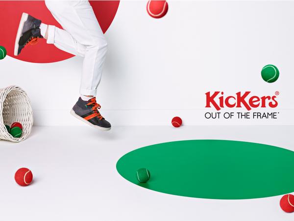 Quand Kickers met des couleurs dans l'hiver...