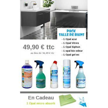 Résultat du concours de janvier 2015 avec les produits de salle de bain Opaline .