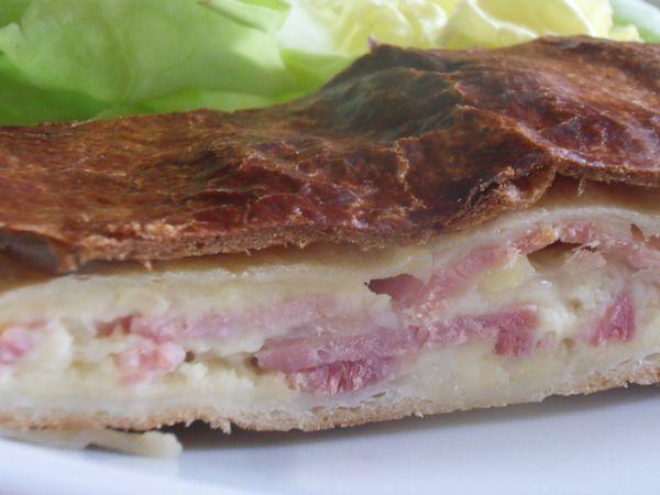 feuilleté jambon fromage