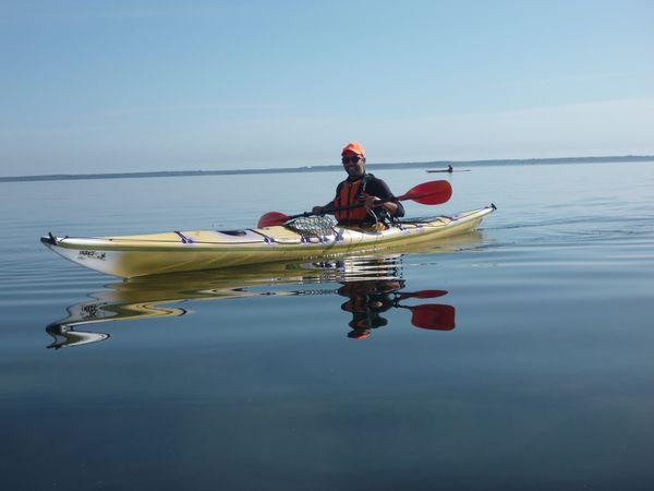Baptème du dieu Inuit des océans... sur le lac de Cazaux