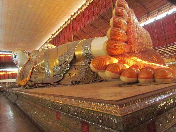 RANGOON et retour à Bangkok