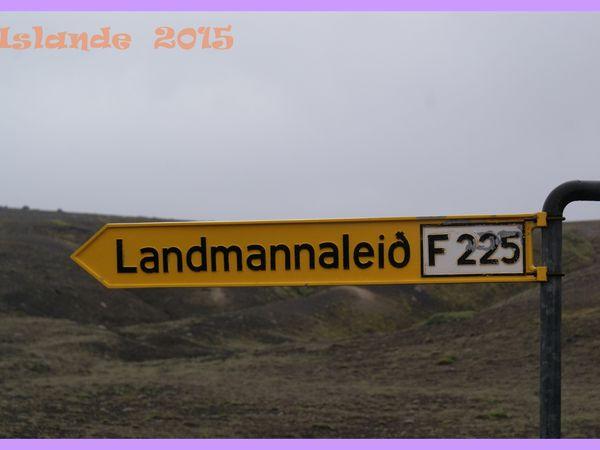 Islande 2015. Landmannalaugar. Randonnée au Ljotipollur. Jour 10.