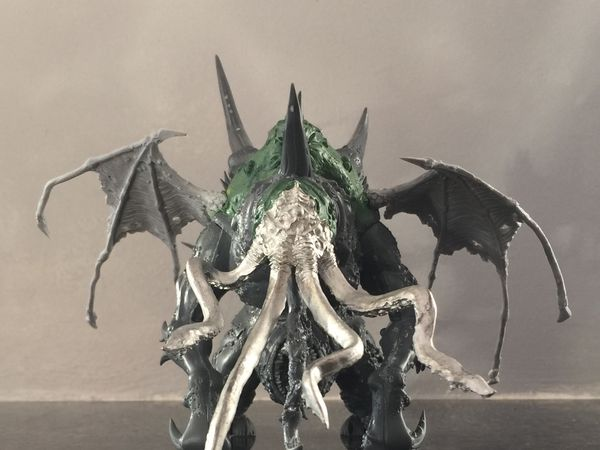 New project, Cthulhu star / Chaos Spawn using Maggoth Lord kit