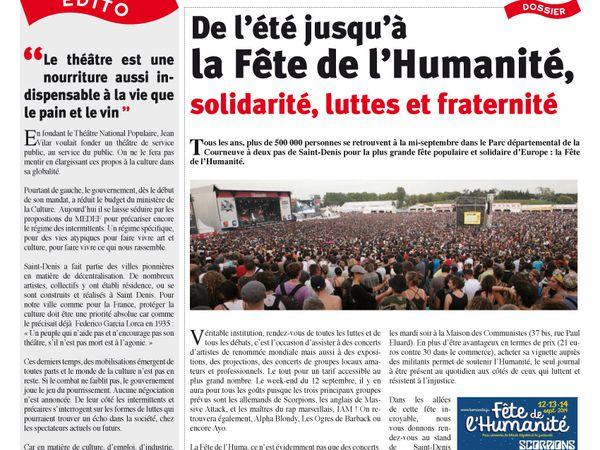&quot&#x3B;Saint-Denis La Citoyenne&quot&#x3B; n° 6 vient de paraître