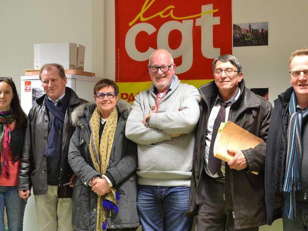 Calais : Une journée sur le terrain avec les sénateurs communistes, Dominique Watrin et Michelle Demessine