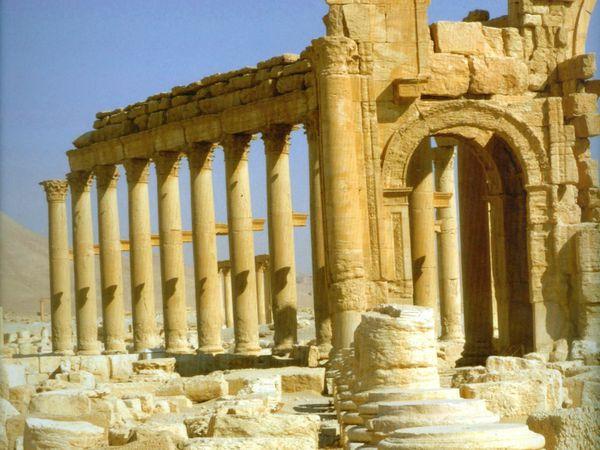 Palmyre ou les vestiges d'une perle du désert