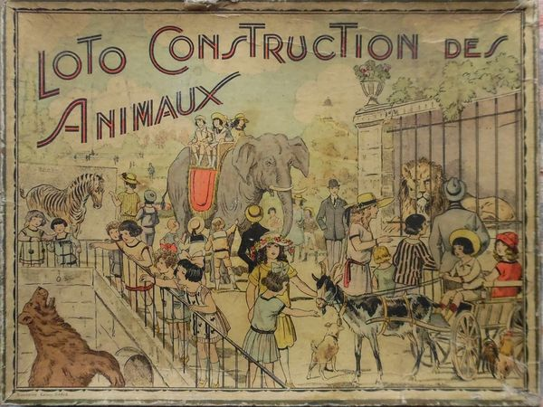 loto CONSTRUCTION des ANIMAUX de SAUSSINE