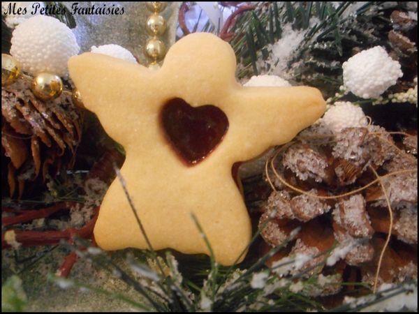 Petits sablés de Noël à la confiture