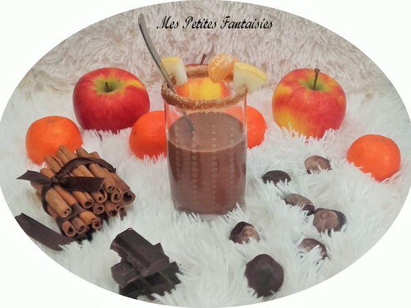 Chocolat chaud à la cannelle caramélisée !