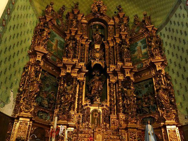 L'intérieur et quelques détails du maître-Autel de Notre Dame des Anges (juin 2016, images personnelles)
