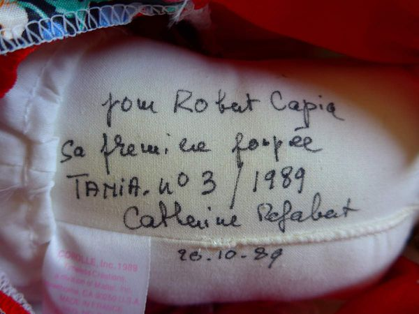 Poupée Corolle : la poupée Tania de Robert Capia.