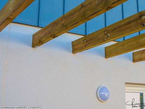 Reportage d'architecture pour la cociété Exeo a Saint Cyr sur Loire
