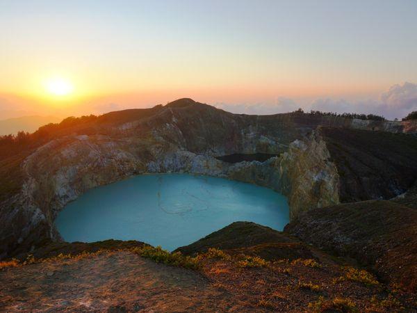Les lacs volcaniques du Kelimutu