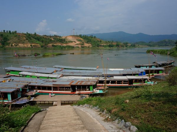 On embarque sur le Mekong !