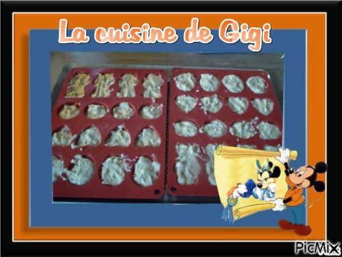 Gourmandises minute (pour utiliser des blancs d'œufs)