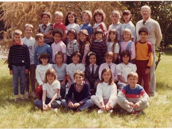 Ce1 1986/1987 et cours moyen