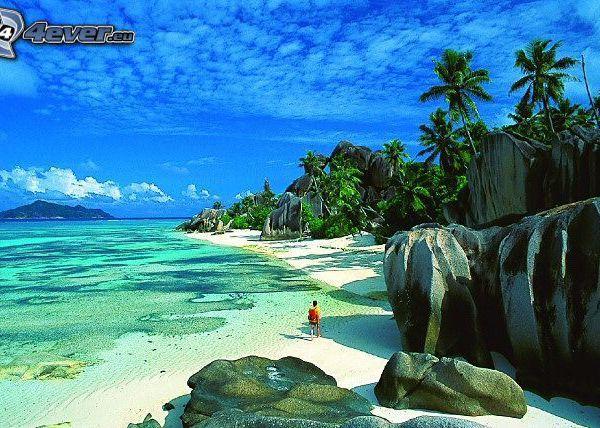 Des plages et des mers
