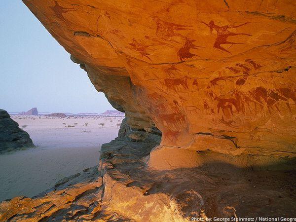 Le désert &quot&#x3B;préhistorique&quot&#x3B;