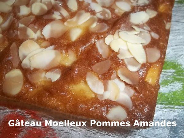 Un Tour en Cuisine #394 - Gâteau Moelleux Pommes Amandes