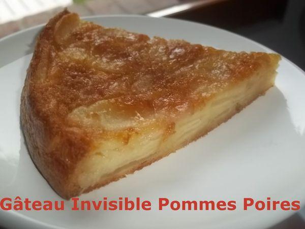 Un Tour Rapide en Cuisine #171 - Gâteau Invisible Pommes Poires
