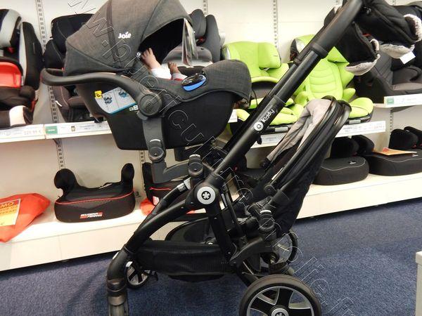 TEST POUSSETTE KIDDY EVOSTAR1 EN MODE DOUBLE / DUO 1 OU 2 ENFANTS