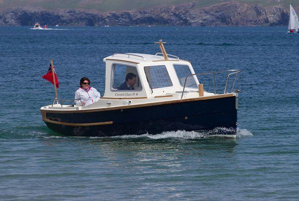Le Clam 19, un petit timonier de charme, par le chantier britannique Cornish Crabbers