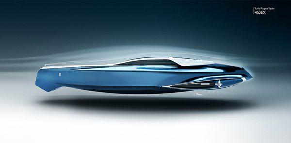 Une annexe de yacht et superyacht au desin de Roll-Royce : c'est le 450 EX du design britannique Stefan Monro