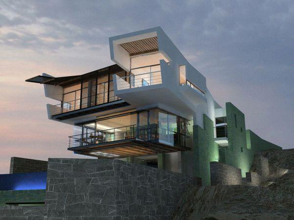 Lifestyle - 15 photos de l'extraordinaire maison sur la plage de Longhi Architects (Pérou - 2008)
