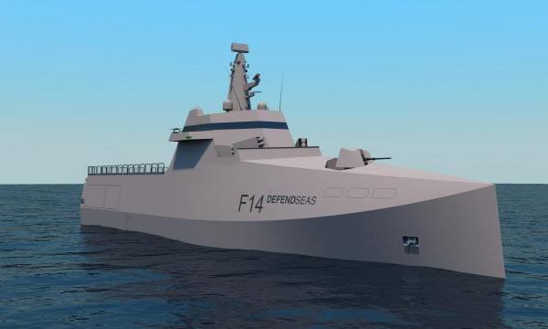 VIDEO - STX dévoile son projet secret de corvette DefendSeas