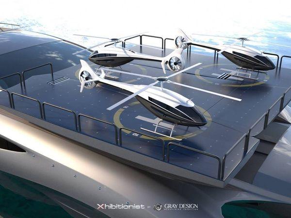 Toutes les images du super-yacht 166 Xhibitionist de Gray Design