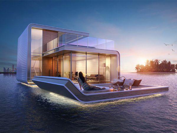 Lifestyle - Floating Seahorse, la maison flottante semi-immergée