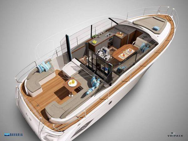 SCOOP - premiers visuels du projet de trawler mixte DA10 de Bavaria