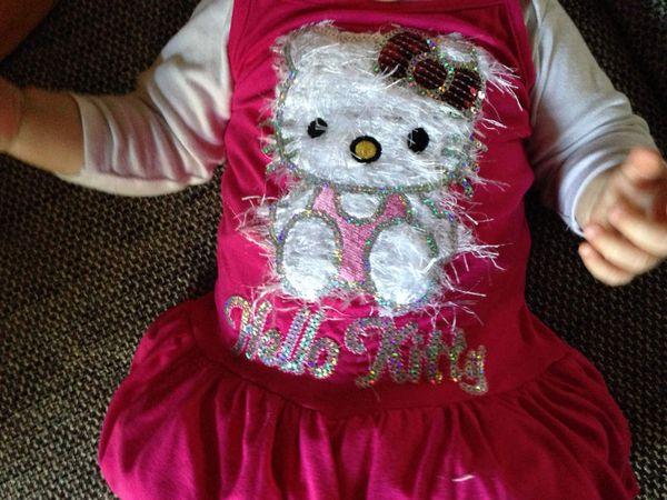 Mode bébé : la robe Hello Kitty