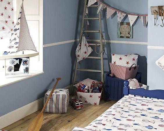 Be Happy ! nouvelle collection de tissu pour enfants.