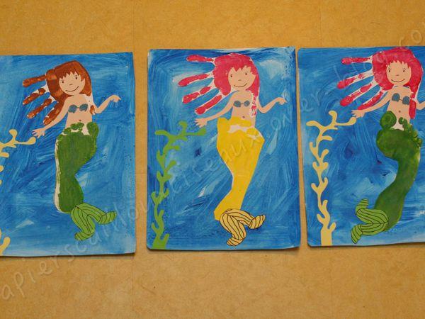 Emilie, 6 ans / Océan, 6 ans / Anaëlle 9 ans